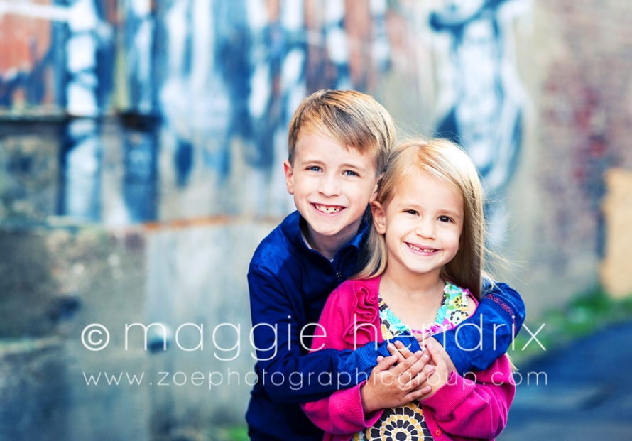 The textures and colors are awesome and there are so many locations to choose from these two cute kiddos were obviously rock stars for their session