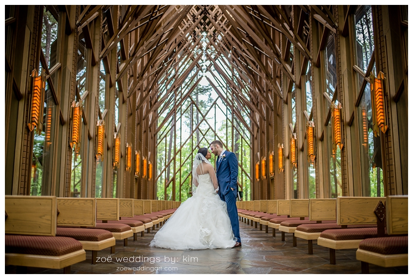 Garvan Woodland Gardens Wedding Hot Springs Arkansas Genevieve Ross